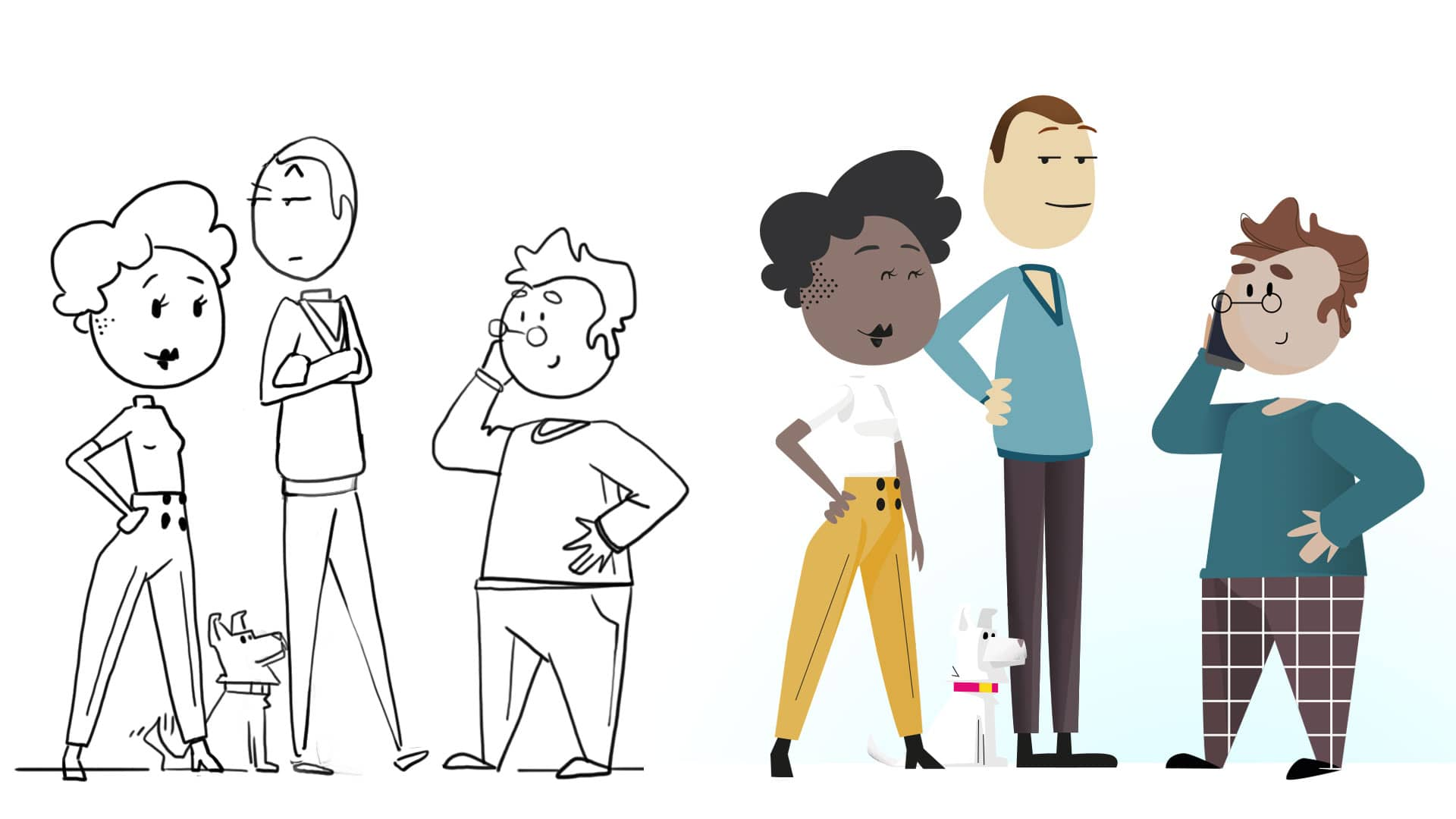 Illustration Figurenentwicklung