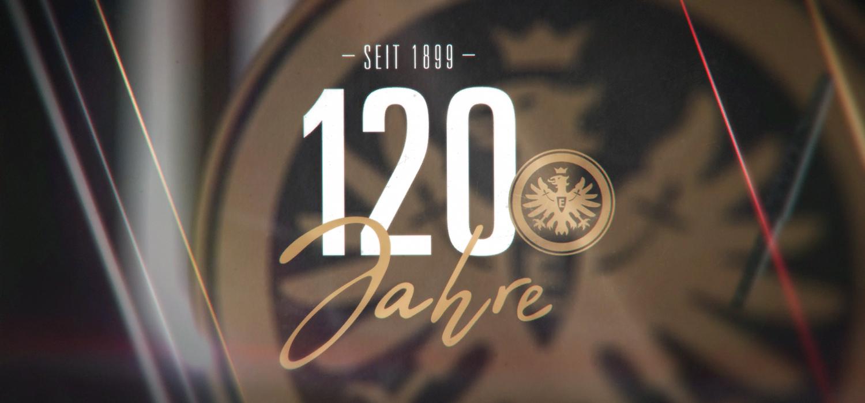 120 Jahre Eintracht Frankfurt - Motion Design und Film by GROSSE8