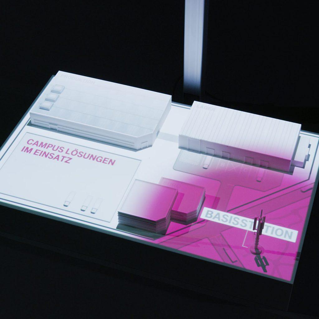 5G Modellmapping by GROSSE8 für die Deutsche Telekom