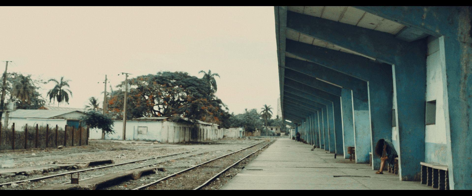 leerer Bahnhof in Kuba