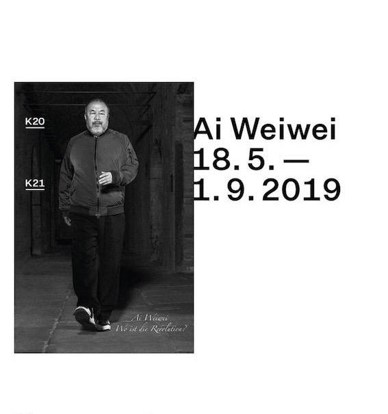 Austellungsplakat AiWeiwei