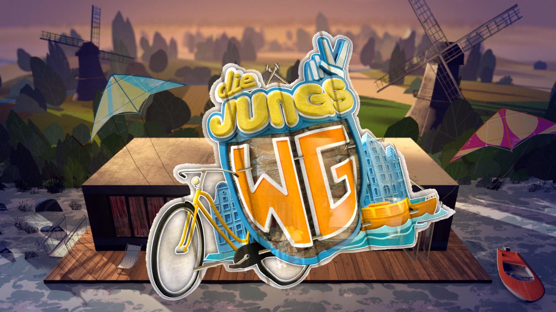 Die neue Staffel der ZDF-Serie Jungs-WG 2019: diesmal in Amsterdam