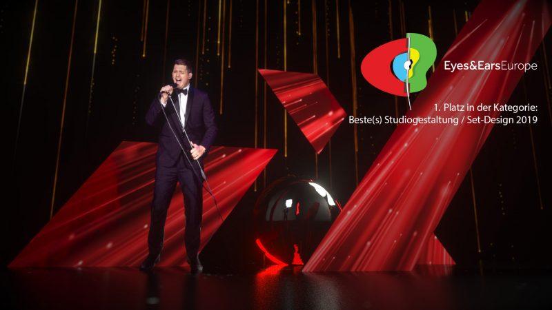 GROSSE8 erhält Eyes & Ears Award für die VOX Weihnachtskampagne mit Michael Bublé